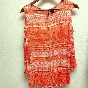 New Directions orange shirt size Large.